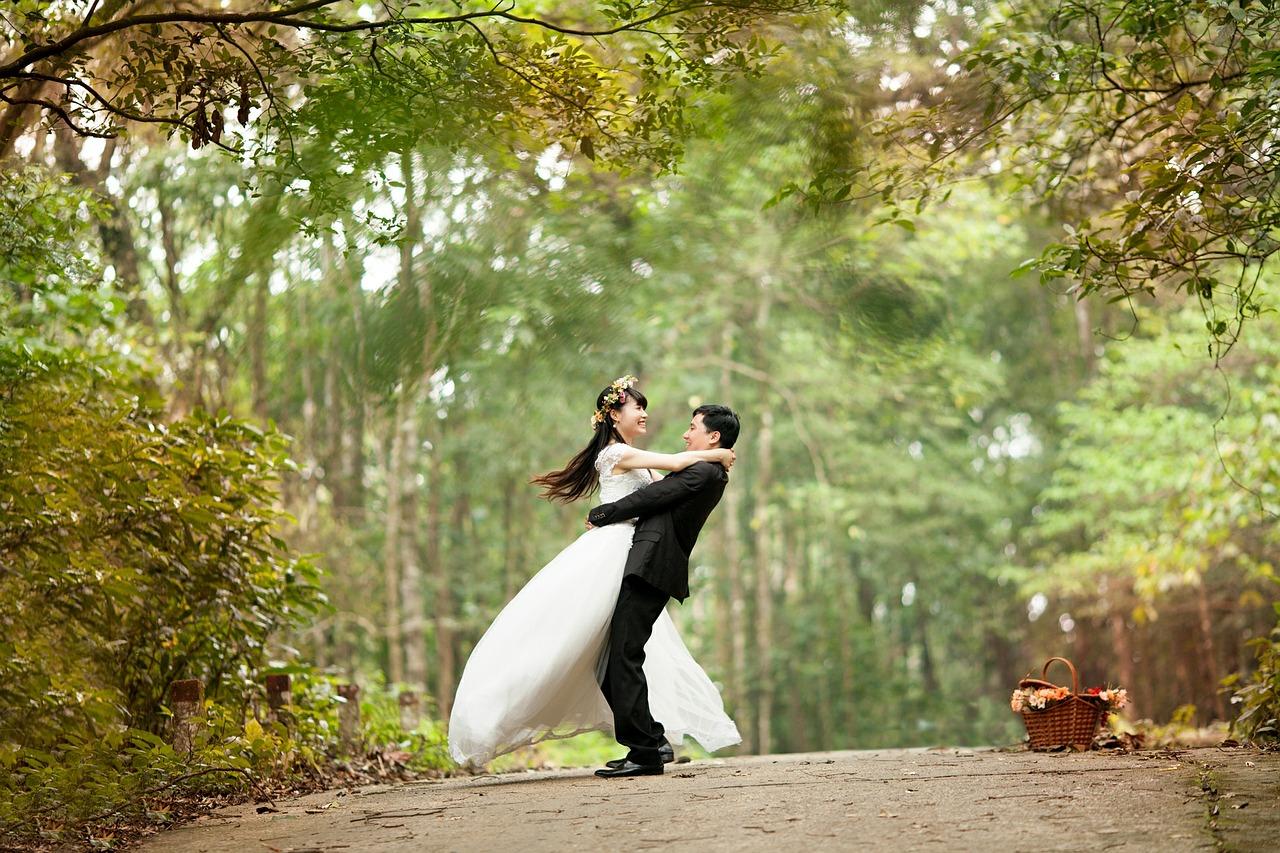 זוג ליפני החתונה