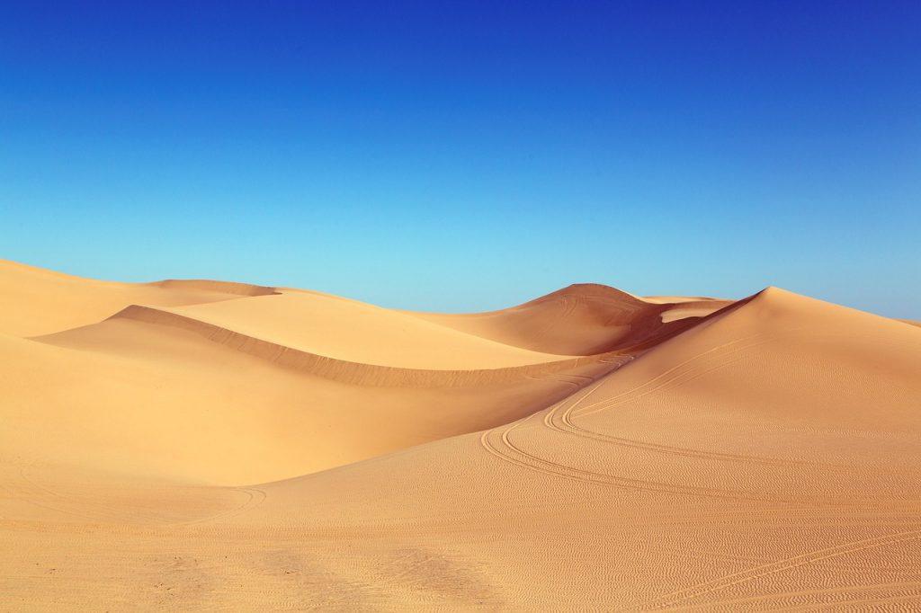 שטח של חול