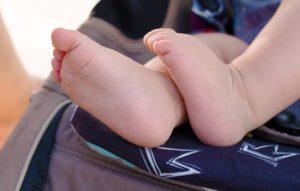 אצבעות של תינוק